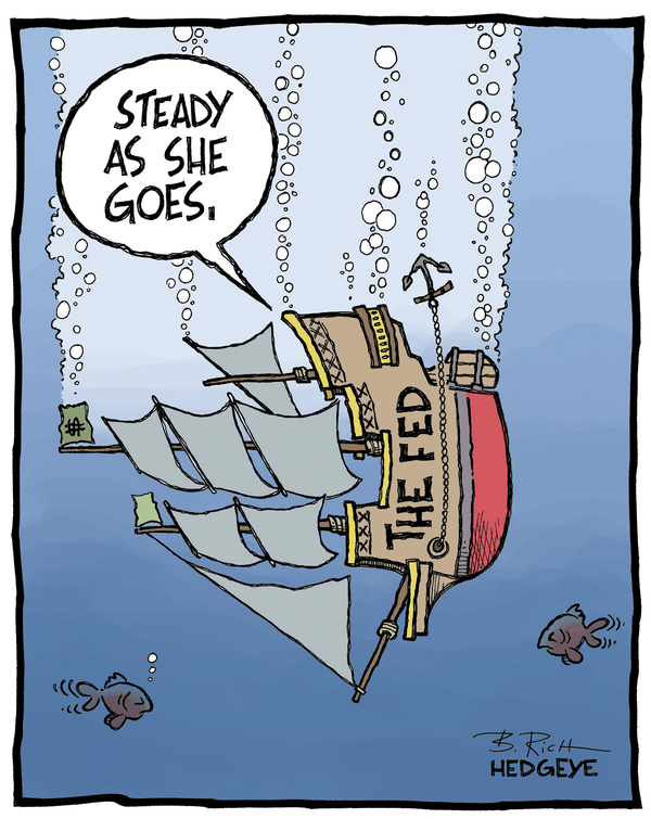 Cartoon of the Day: Steady As She Goes - Fed cartoon 6.19.2014