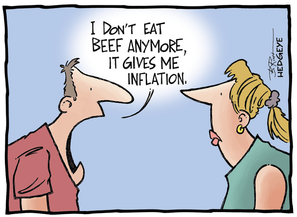 All-Time Highs: Can Food Prices Go Even Higher? - Beef cartoon 06.18.2014