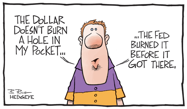 Cartoon of the Day: Burning Dollar - Burning dollar 06.20.2014