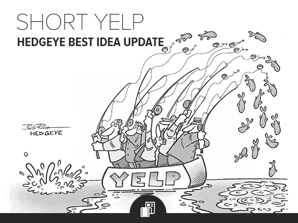 YELP: Short Best Idea Update Call - HE IM YELP cartoon