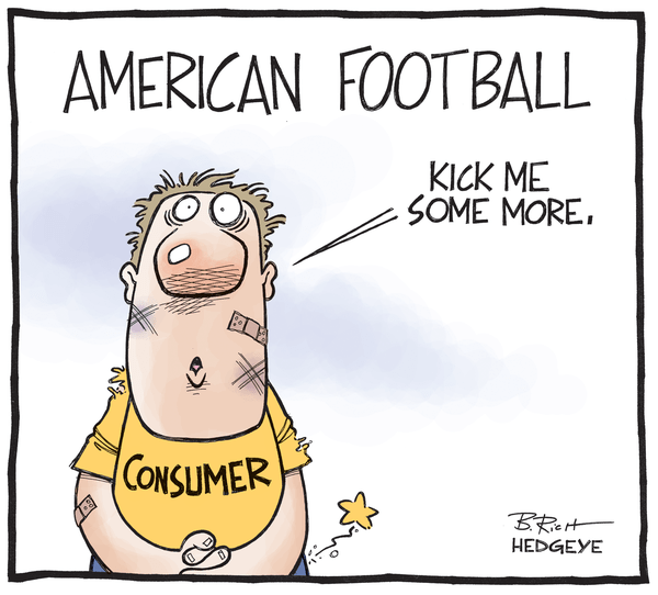 Cartoon of the Day: Kicked Consumers - consumer cartoon 06.24.2014