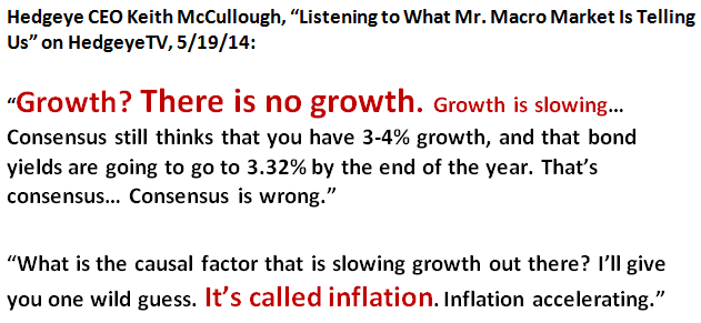 FLASHBACK: @KeithMcCullough Issued Warning Before Today's -2.9% GDP Stink Bomb  - boom1