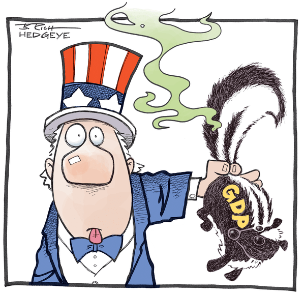 Cartoon of the Day: A Real Stinker - GDP skunk 6.25.2014