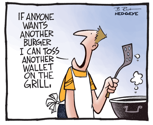 Cartoon of the Day: That Burger's Gonna Cost You - burger cartoon 7.03.2014