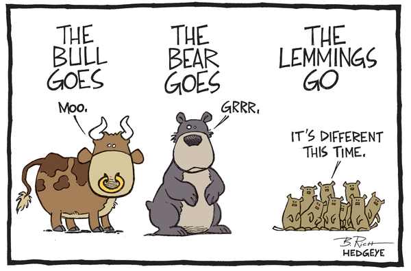 Cartoon of the Day: The 4 Most Dangerous Words - Bull goes... 07.11.2014