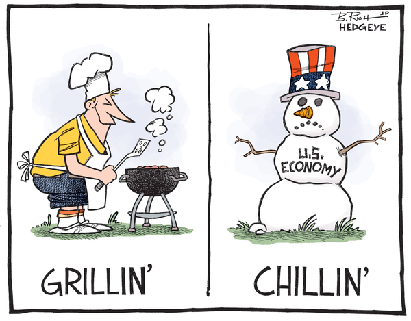 CARTOON OF THE DAY: GRILLIN' AND CHILLIN' - chillin  cartoon 07.18.2014