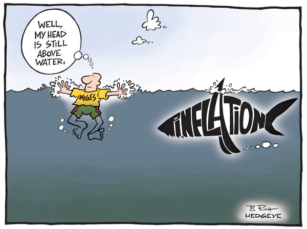Cartoon of the Day: Inflation Shark - Inflation shark cartoon 07.24.2014