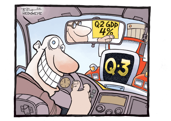Newsflash, It's Q3 - GDP cartoon 07.30.2014