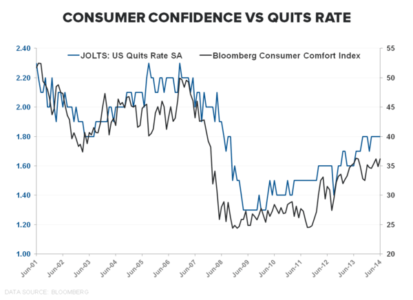 PATIENCE OR PENURY: The Jobless, Wage-less, Investment-less Recovery? - Quits vs Confidence