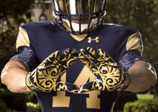 God, Country, Notre Dame (and Under Armour) $UA - ND1