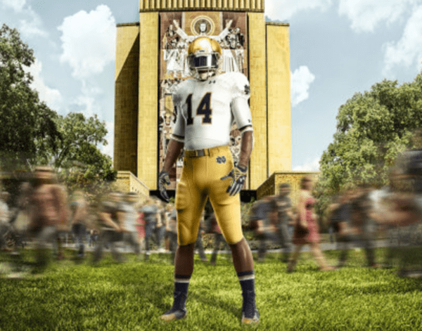 God, Country, Notre Dame (and Under Armour) $UA - ND2