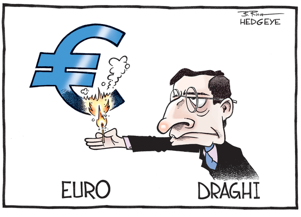 Cartoon of the Day: Burning Euro - bruning euro 08.25.2014