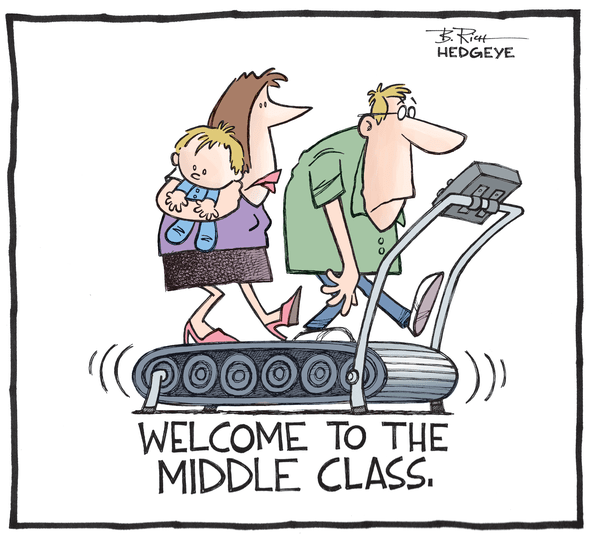 Cartoon of the Day: Going Nowhere - Middle class 08.26.2014