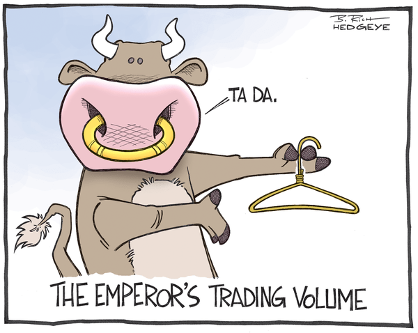 Cartoon of the Day: No Volume - Trading volume cartoon 08.28.2014