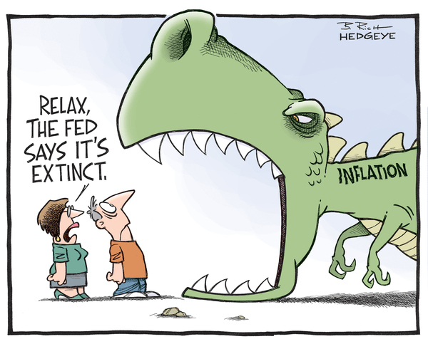 Cartoon of the Day: Inflation T-Rex - Inflation T Rex 09.02.2014