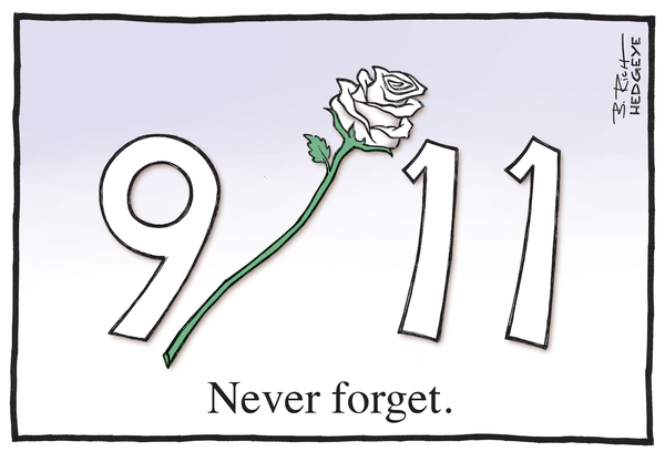 Never Forget - 911 cartoon 09.11.2014