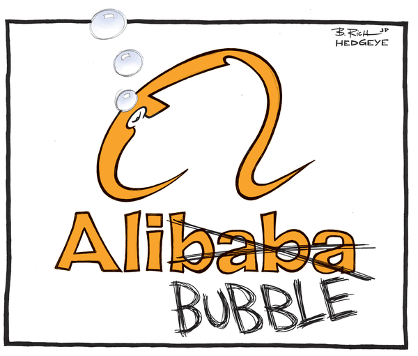 Cartoon of the Day: Alibaba or Ali-Bubble? - Alibaba cartoon 09.XX.2014