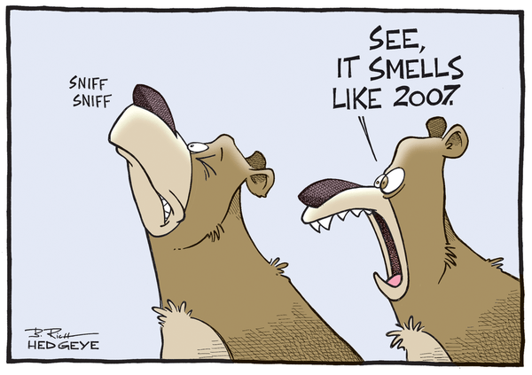 The Best of This Week From Hedgeye - smells like 2007 9.8.14