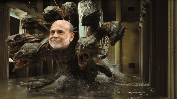 Hydra-Headed Fed - hydra bernanke