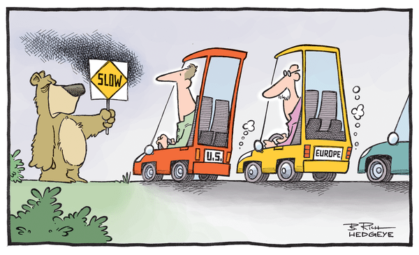 The Best of This Week From Hedgeye - Growthslowing europe us 10.22.14