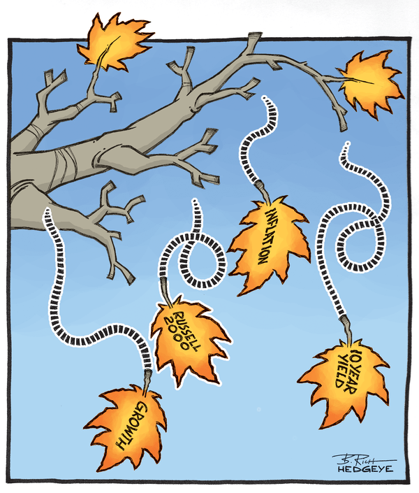 Cartoon of the Day: It Is Fall After All - falling leaves cartoon 10.27.2014
