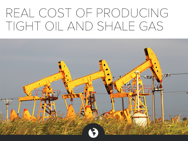 REAL COST OF PRODUCING TIGHT OIL AND SHALE GAS: FACT VS. FICTION W/ SPECIALIST LEONARDO MAUGERI - Marketing Image vF
