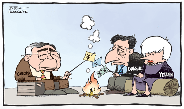 Cartoon of the Day: #CurrencyBurning - campfire cartoon 10.31.2014