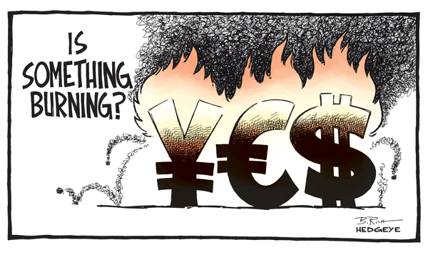 Cartoon of the Day: ¥€$ - Burning money cartoon 10.31.2014 3