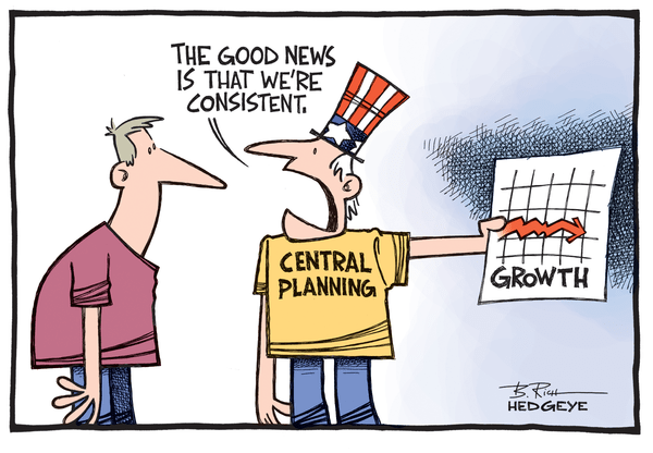 Cartoon of the Day: Central Planning #Failure - Growth cartoon 11.10.2014
