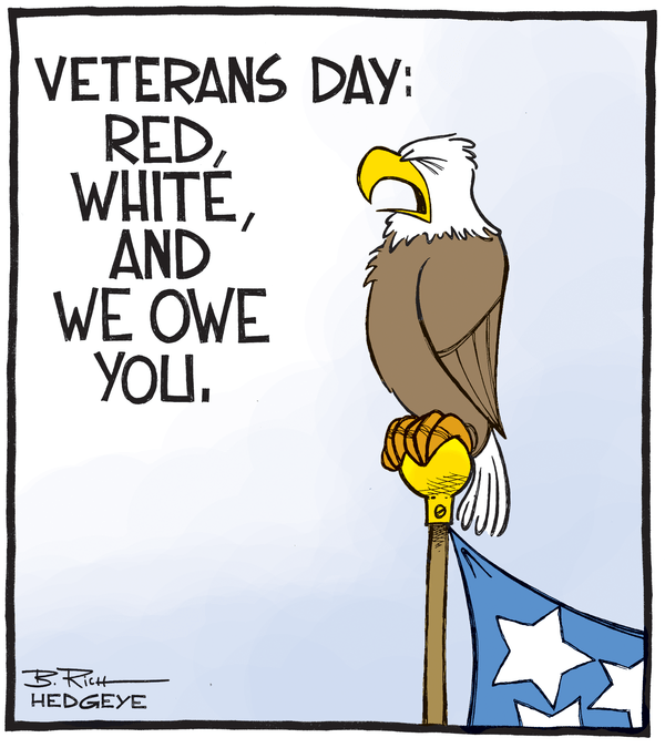 Cartoon of the Day: Thank You - veterans day cartoon 11.11.2014