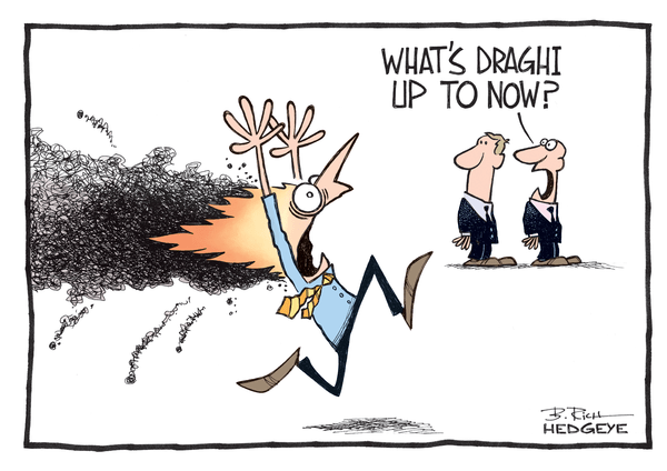 Cartoon of the Day: Central Planning Gone Wrong - Draghi cartoon 11.21.2014