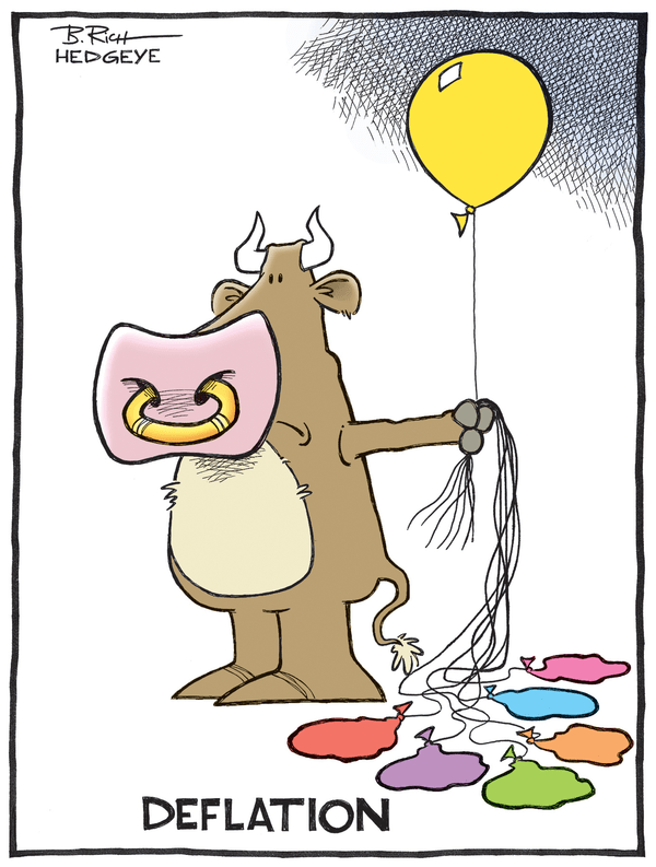Deflation's Nemesis - Deflation cartoon 10.02.2014