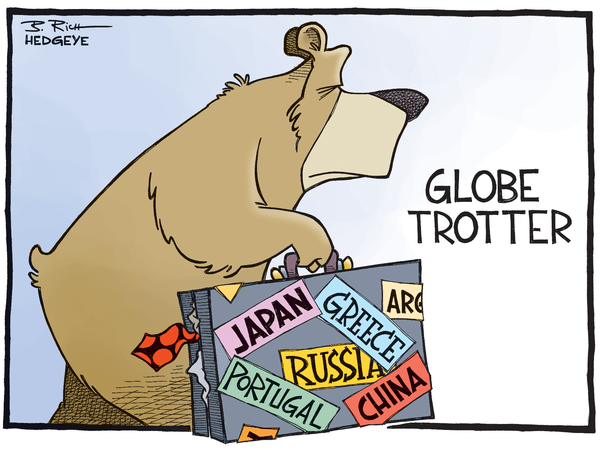 Cartoon of the Day: A Bear Without Borders - global bear 12.11.2014