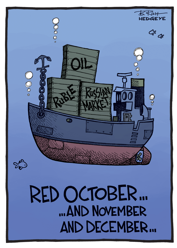 Cartoon of the Day: Red October... - Russia cartoon 12.15.2014
