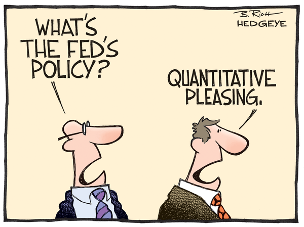 Cartoon of the Day: The Real Fed Policy - FED cartoon 12.18.2014