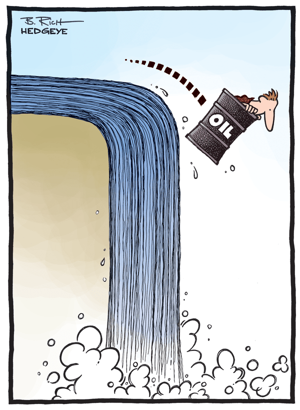 Cartoon of the Day: Oil Plunge! - Oil cartoon 12.20.2014