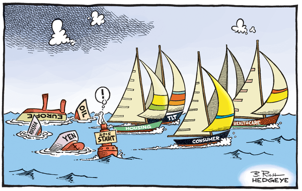 Cartoon of the Day: Pass the Dramamine - boat race cartoon 01.13.2015