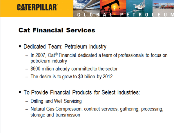 CAT: More Than Oil & Gas (Thoughts Into the Print) - nbv1