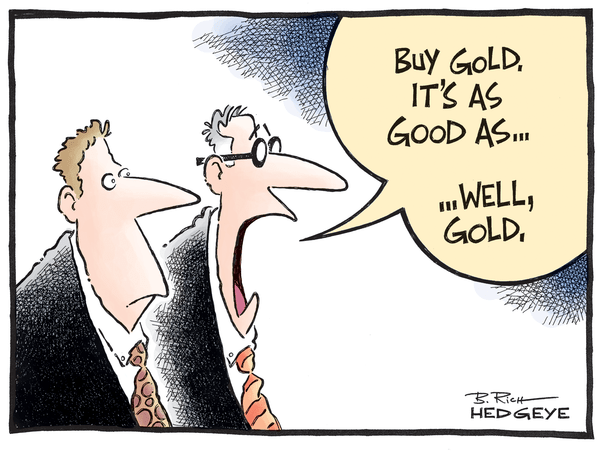 GLD: Adding Gold to Investing Ideas - Gold cartoon 07.23.2014