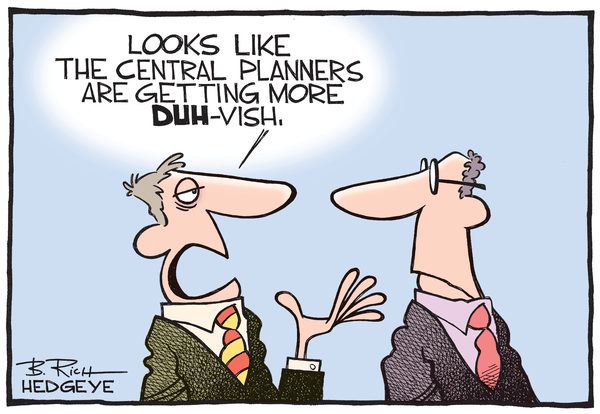 Cartoon of the Day: Dove Is in the Air - central planning cartoon 01.04.2015
