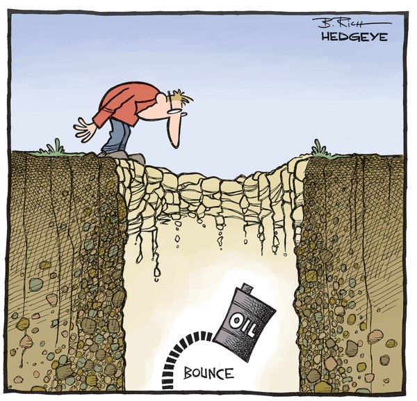 Cartoon of the Day: Oil Bottom? Bueller? Bueller? - Oil cartoon 02.05.2015