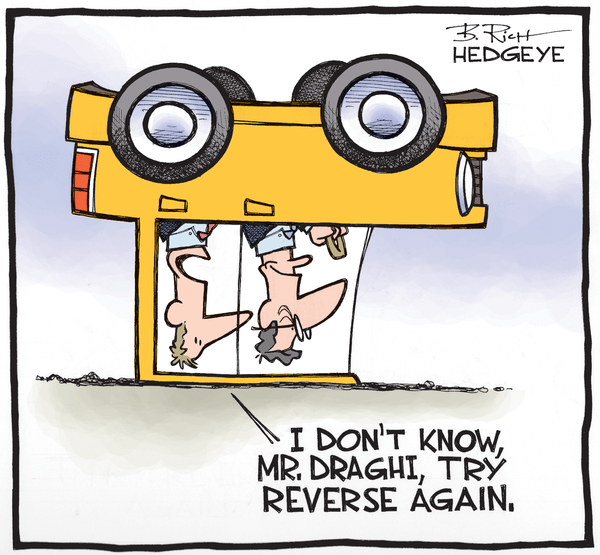 Cartoon of the Day: Collision Course - Draghi cartoon 02.09.2015
