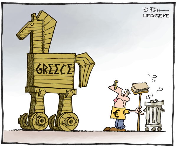 Cartoon of the Day: Same Crap, Different Day - Greece cartoon 02.12.2015