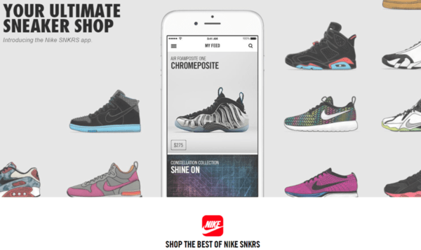 HEDGEYE INSIGHT: Quick Take on Nike's New SNKRS App  | $NKE - nke