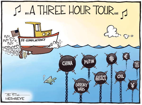Investing Ideas Newsletter      - complacency cartoon 02.10.2015