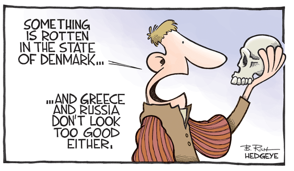 Cartoon of the Day: Rotten - Hamlet cartoon 02.17.2015