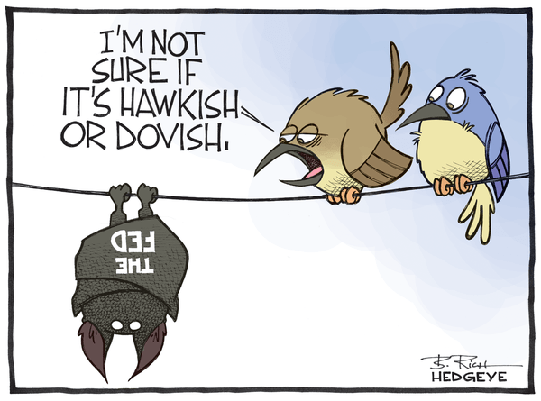 Cartoon of the Day: Batty Fed - Fed cartoon 02.23.2015