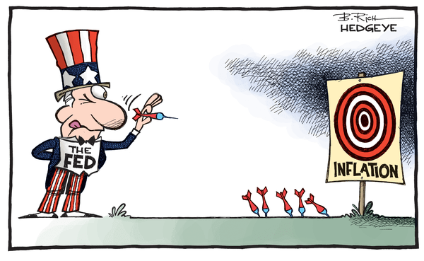Cartoon of the Day: Missing the Mark - Inflation cartoon 02.26.2015