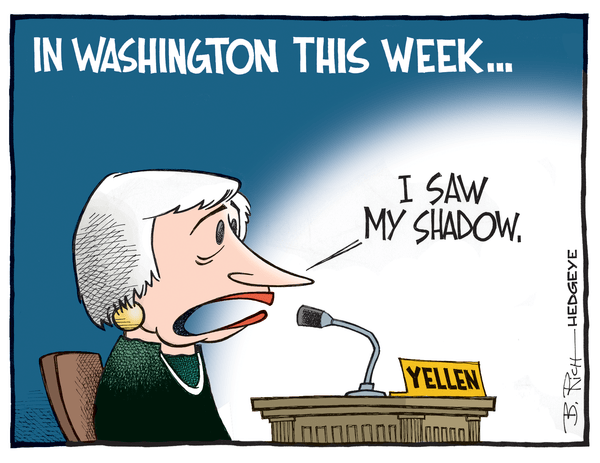 Cartoon of the Day: Yellen's Testimony - Yellen cartoon 02.27.2015
