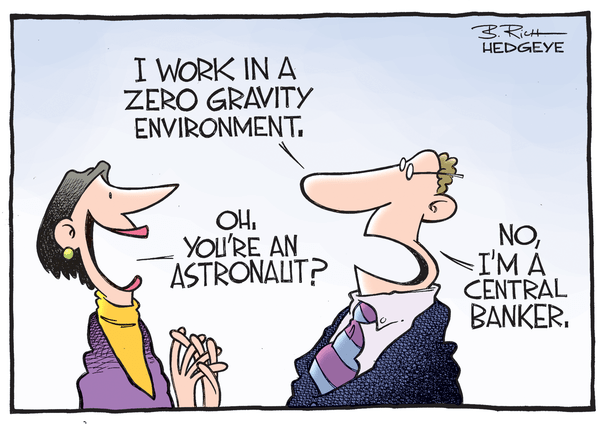 Cartoon of the Day: Space Cadets - Central banker cartoon 03.03.2015